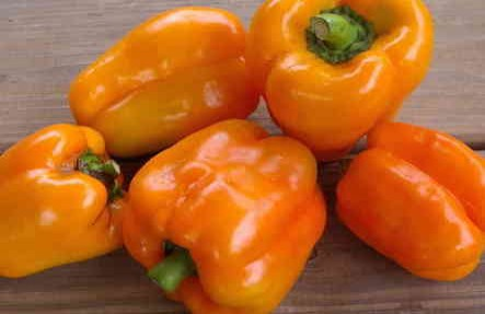 Organic Orange Bell Pepper 2lb Bag