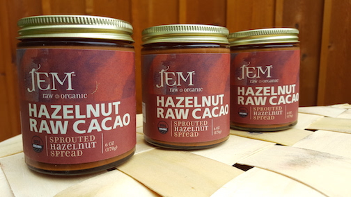 Raw Organic Nut Butter- Hazelnut Raw Cacao