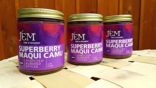 Raw Organic Nut Butter- Superberry Maqui Camu