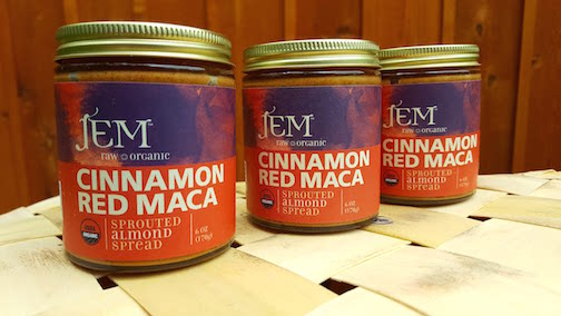 Raw Organic Nut Butter- Cinnamon Red Maca