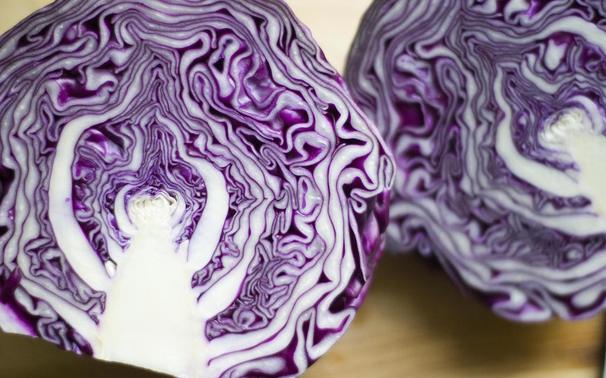 Organic Red Cabbage 2 Pack