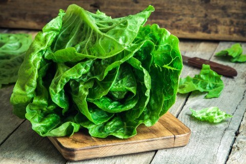 Organic Romaine Lettuce: 2 Pack