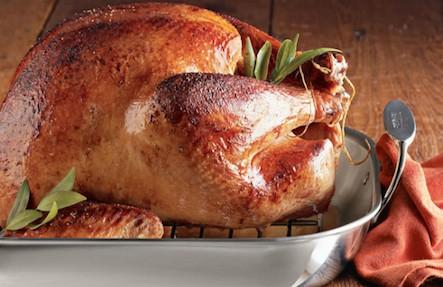 Pasture Raised Turkey 12-15lb Feeds 6-8