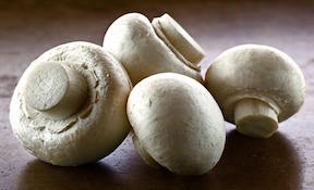 Organic White Button Mushrooms 1lb