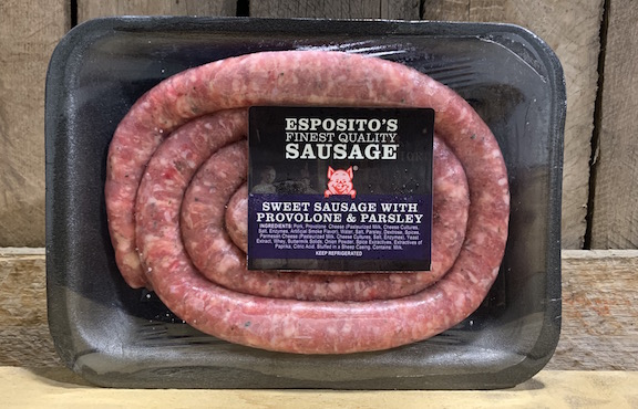 Sweet Provolone & Parsley Sausage Links- .8lb