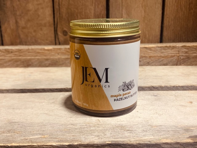 Maple Pecan Hazelnut Butter- Raw Organic 6.5oz
