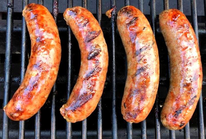 Peking Duck Sausage 3lb Pack- $20/lb