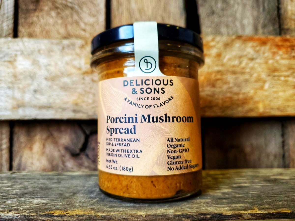 Organic Porcini Mushroom Spread  6.4oz