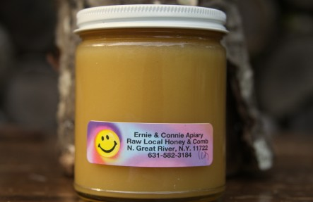 Raw Local Cream Honey 12oz Jar