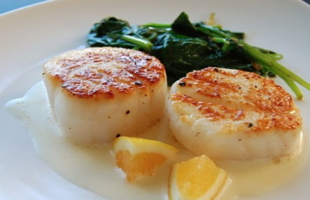 1lb Local Fresh Sea Scallops