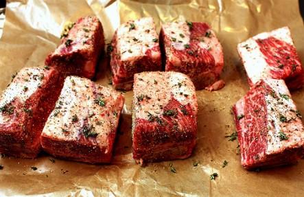 Hemlock Hill Beef Short Ribs 2.75lb $13.99/lb