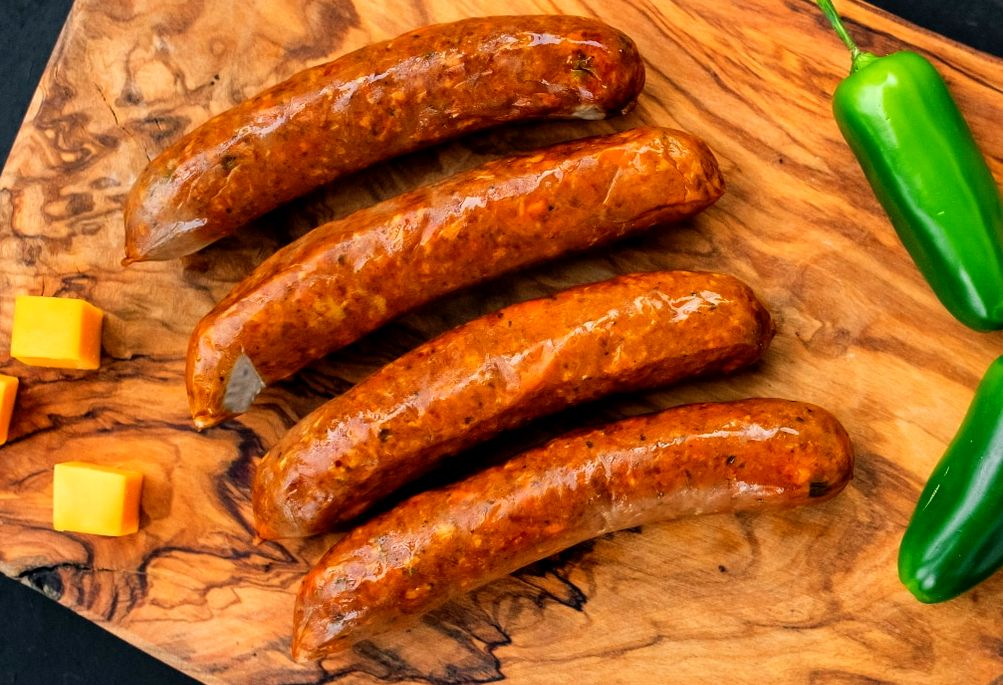 Smoked Jalapeno Cheddar Bratwurst 12oz
