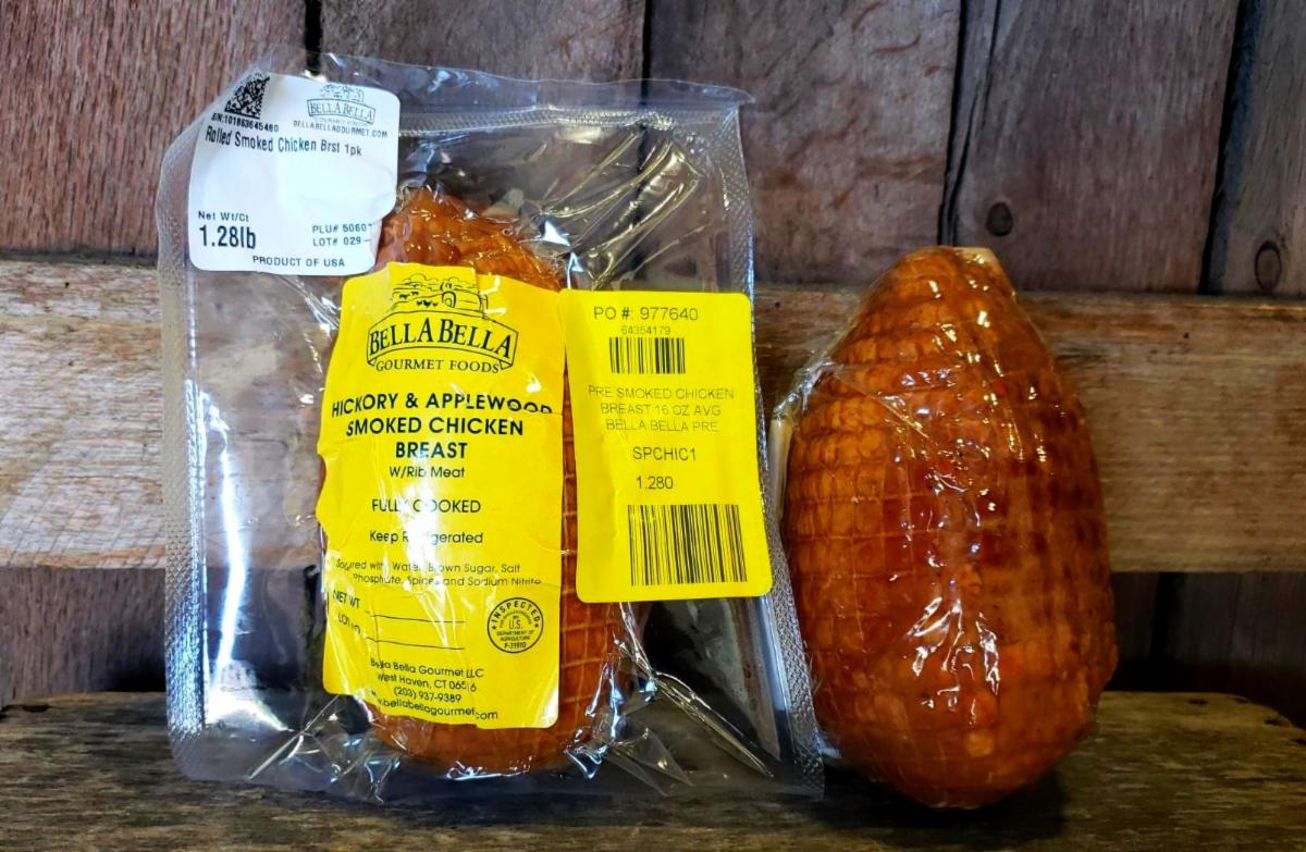 Hickory & AppleWood Smoked Chicken Breast $17.99/lb 1.2lb Package