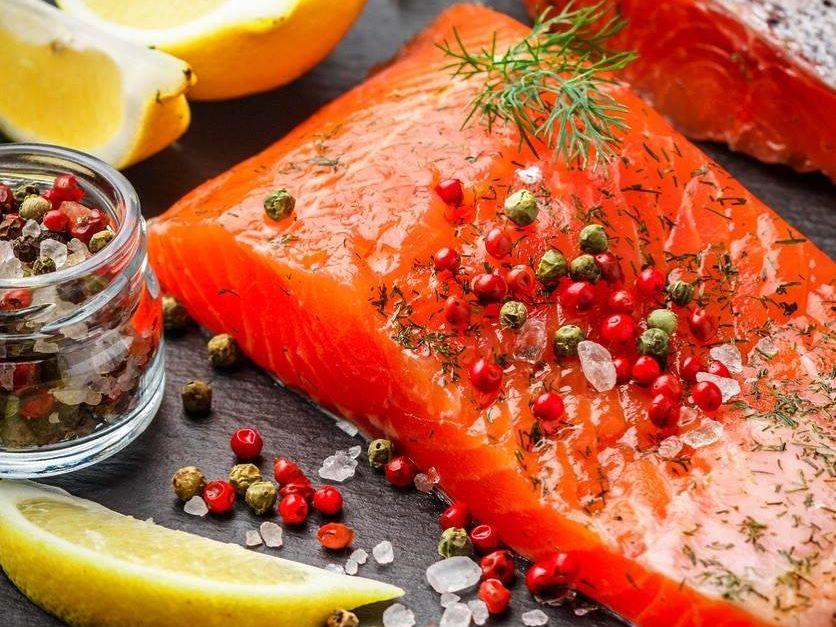 Wild Alaskan Sockeye Salmon .45lb Fillet $22/lb