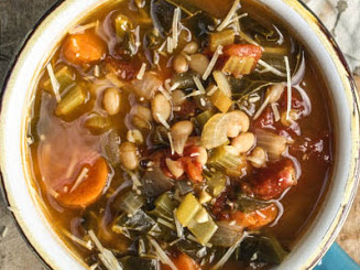 White Bean Chard Soup 1 Quart