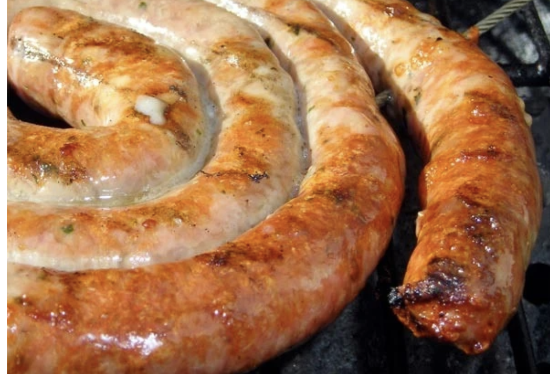 5LB Sweet Provolone & Parsley Sausage Link