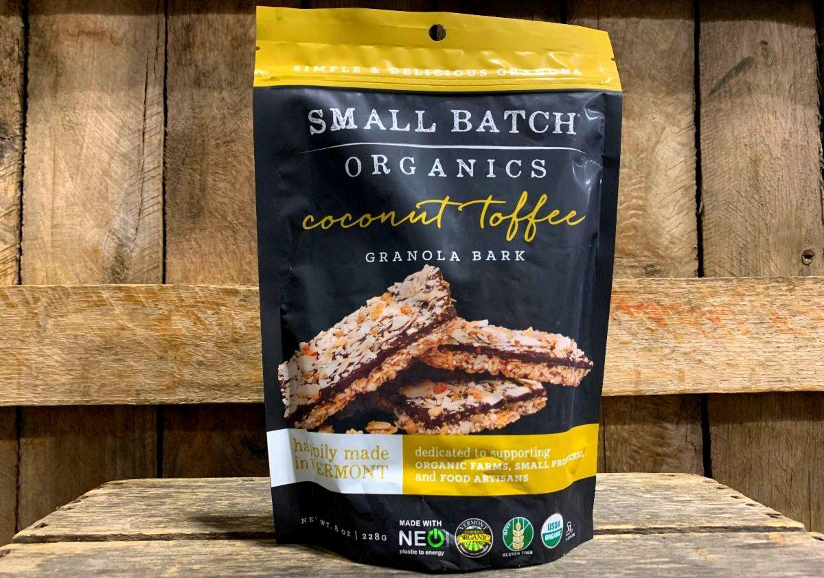 Organic Coconut Toffee Bark 8oz