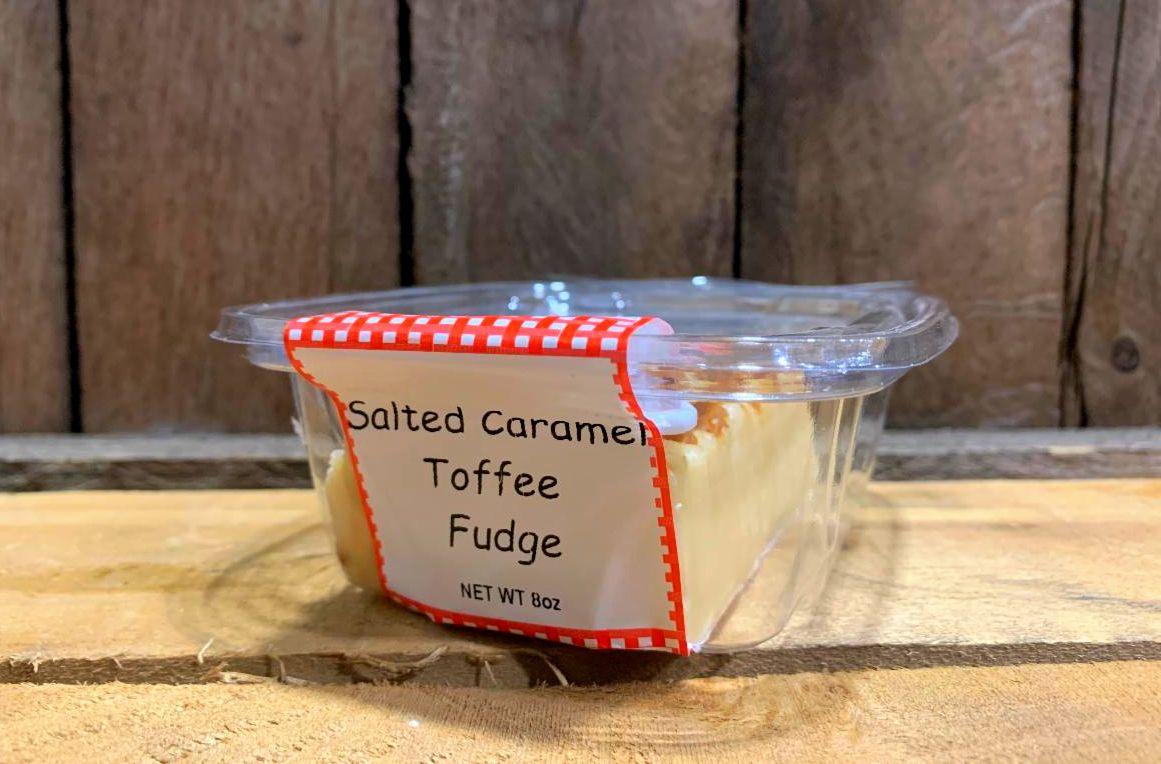 Salted Caramel Toffee Fudge 8oz