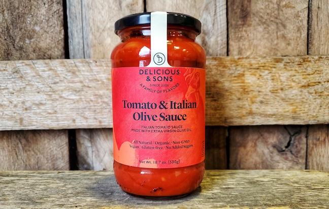 Tomato and Italian Olive Sauce 19oz