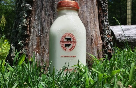 Ronnybrook Glass Bottled Whole Milk 1 Quart