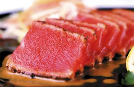1lb Fresh Yellow Fin Tuna Fillet